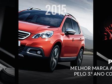Peugeot escolha do consumidor