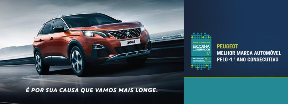 Marca de confiança da Peugeot