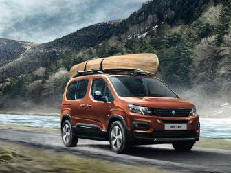 Novo Peugeot Rifter na Caetano Motors