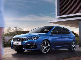 Peugeot 308 por 200€/mês na Caetano Motors