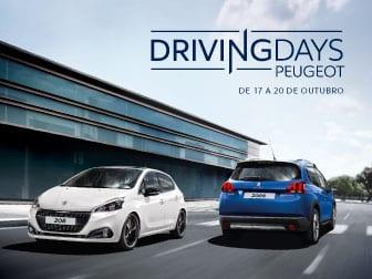 Peugeot Driving Days de 17 a 20 de Outubro