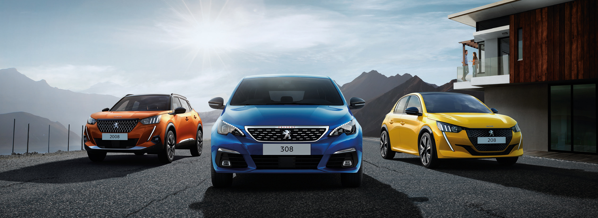 novos automóveis Peugeot