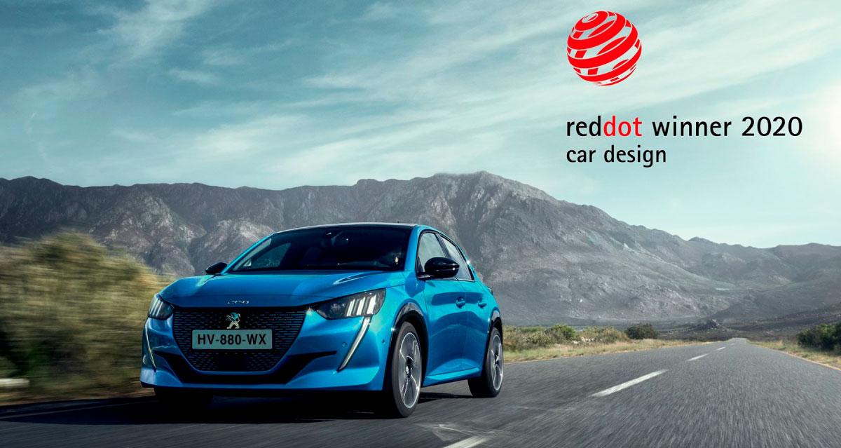 Notícia Peugeot 208 em azul