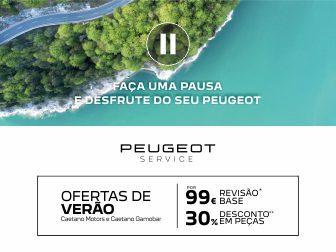 Revisão Base por 99€ e ainda desconto adicional de 30% em Peças*