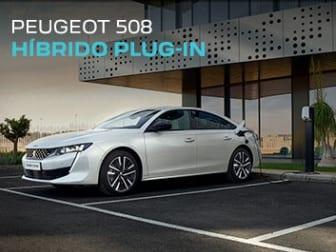 Peugeot 508 Plug-in em branco