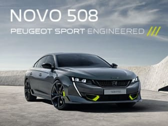 Chegou o Paradigma da Performance, o 508 Peugeot Sport Engoneered
