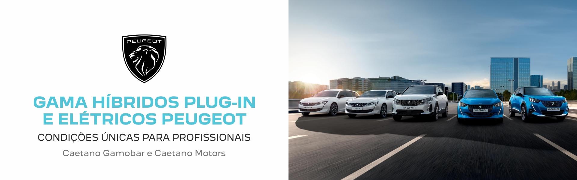 gama de híbridos Peugeot