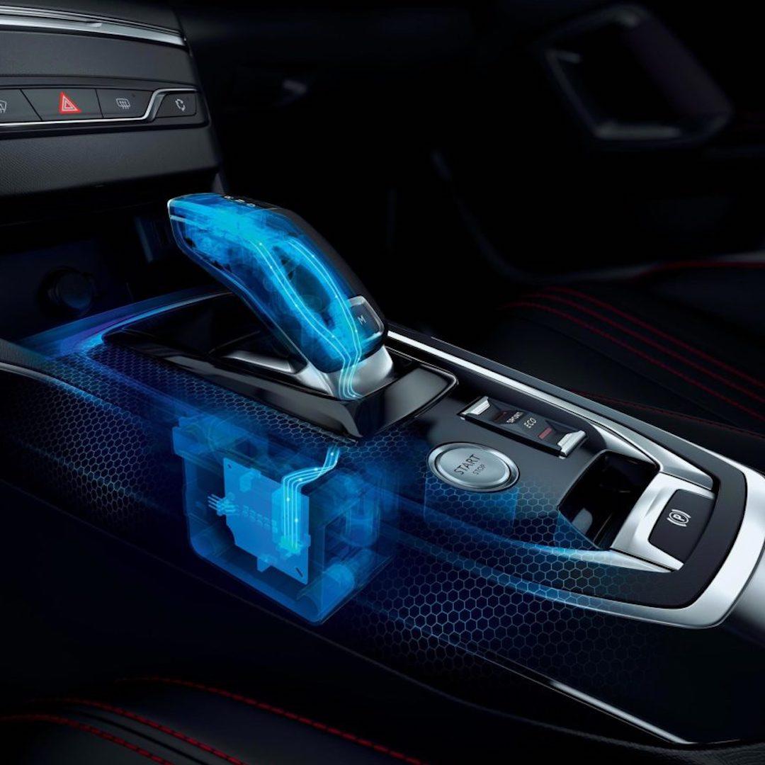 caixa de velocidades do Peugeot 308
