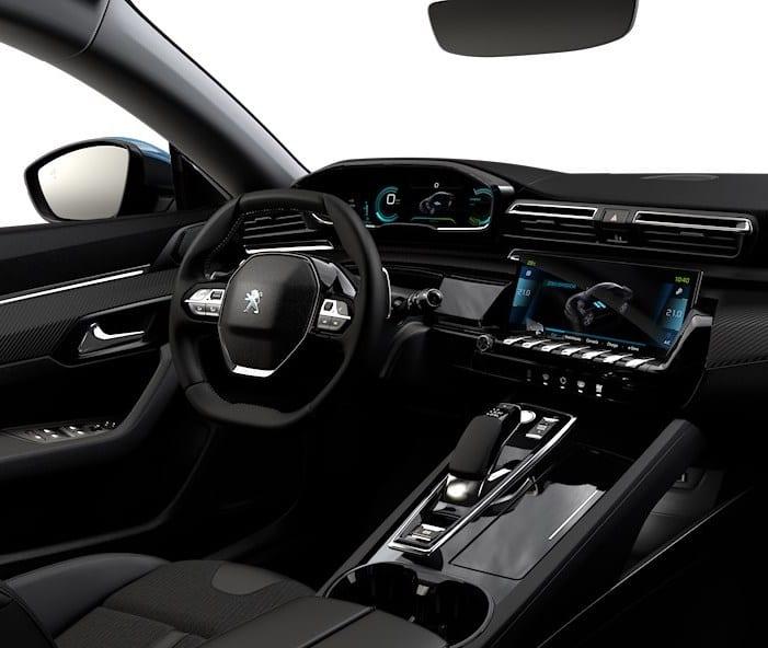 interior do Peugeot 508 Hybrid