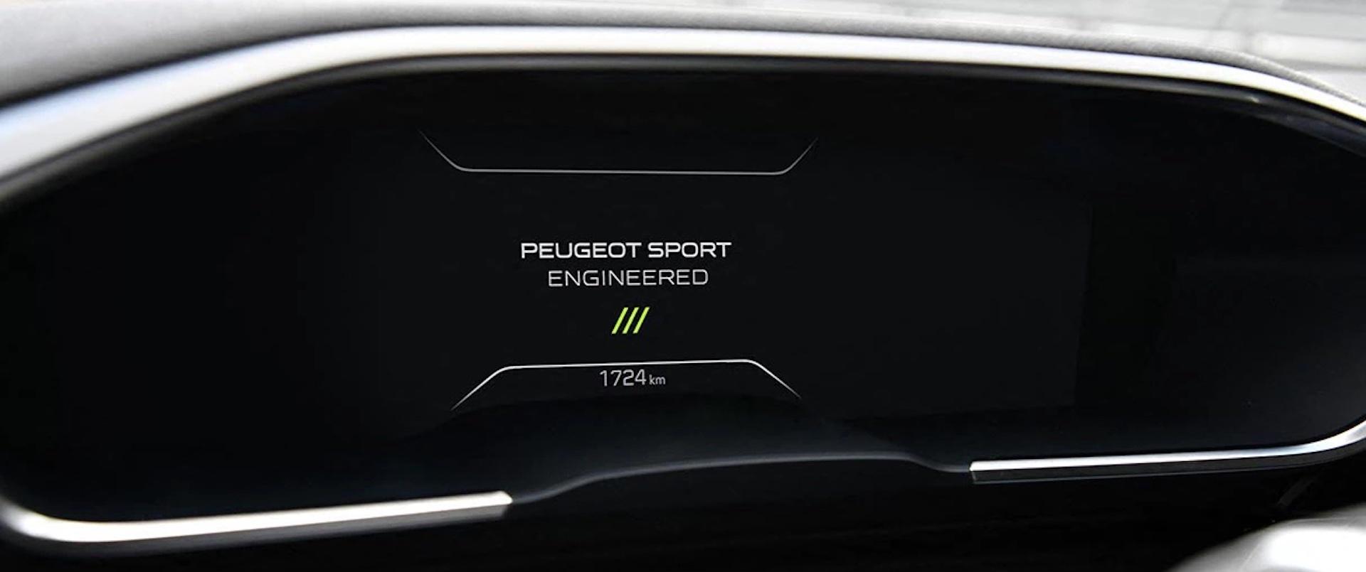 painel de instrumentos Peugeot 508 SW Hybrid