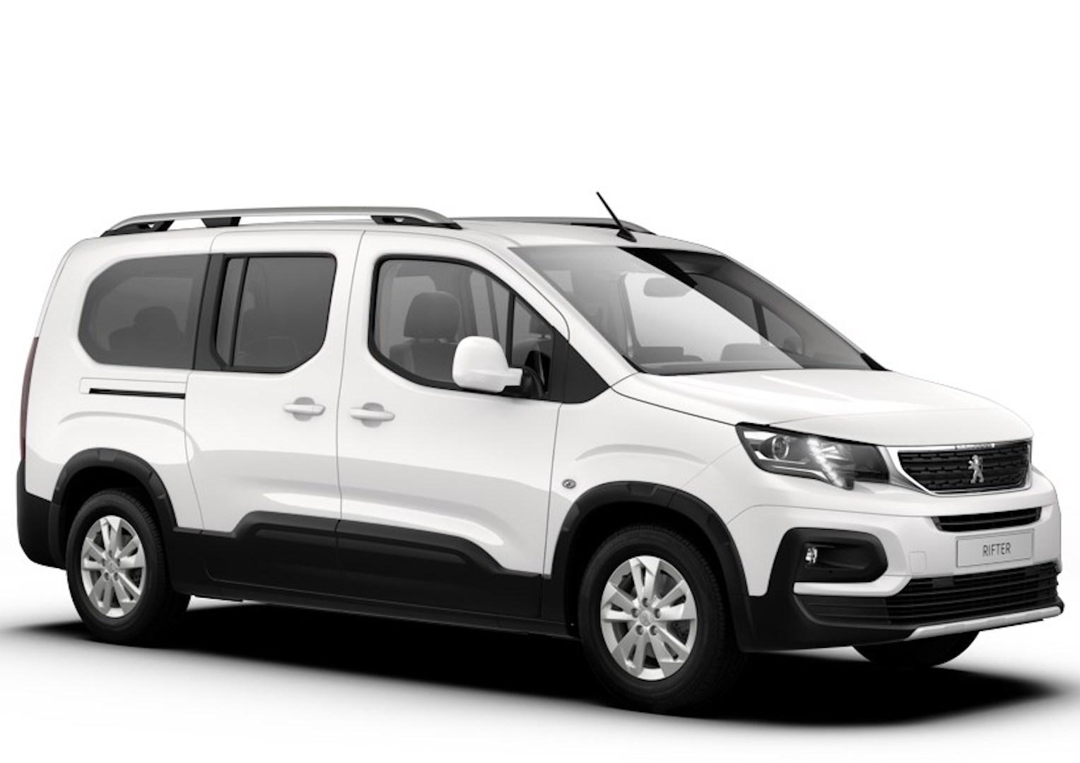 Peugeot Rifter branco de 7 lugares