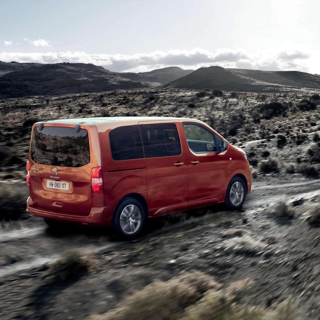 Peugeot Traveller experiência