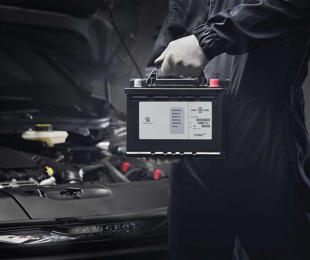 bateria Peugeot 308