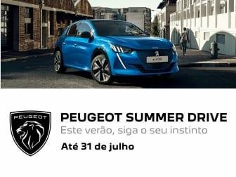 Siga o seu instinto e encontre o seu Peugeot nos Summer Drive!