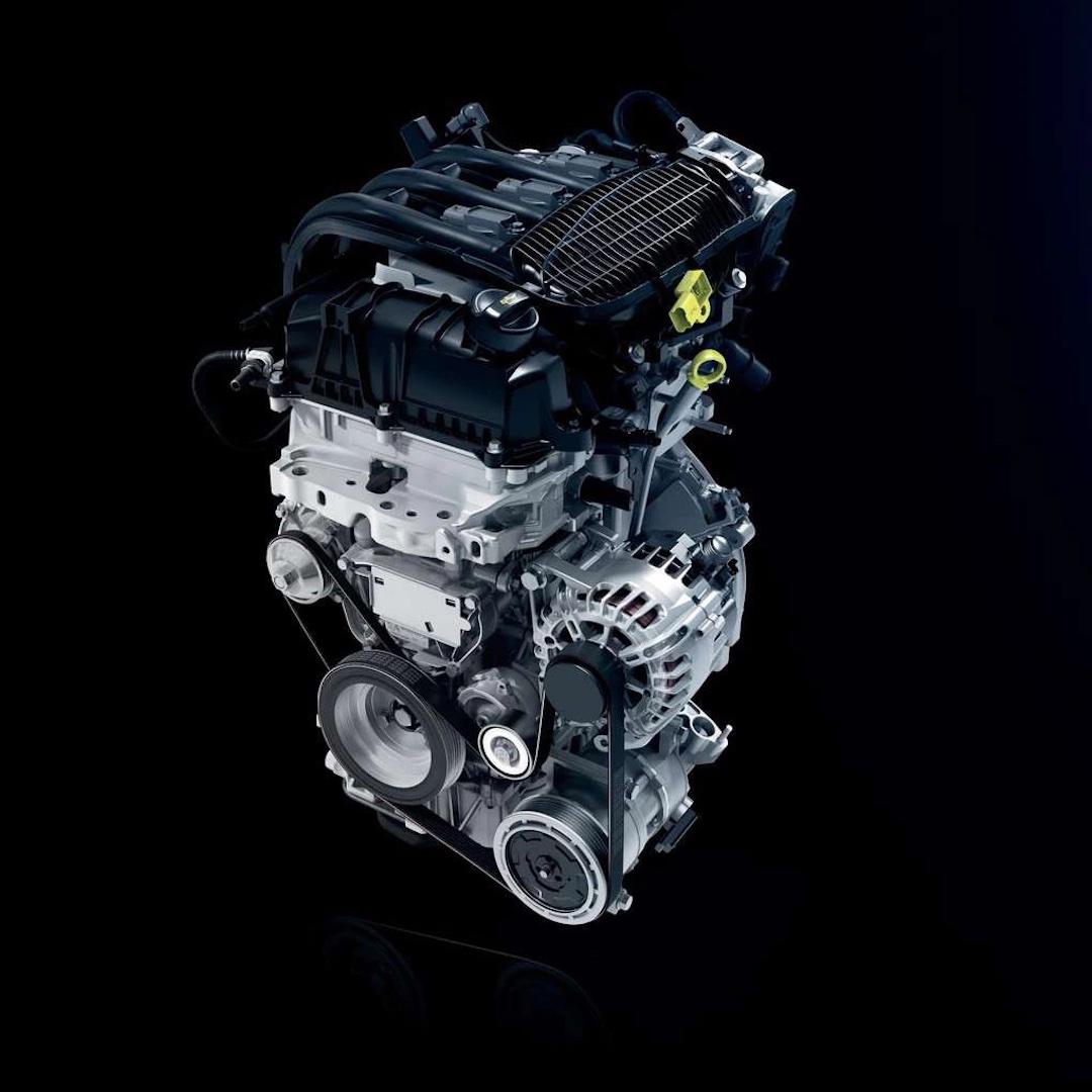 motor do Peugeot 108
