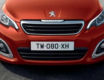 grelha do Peugeot 108
