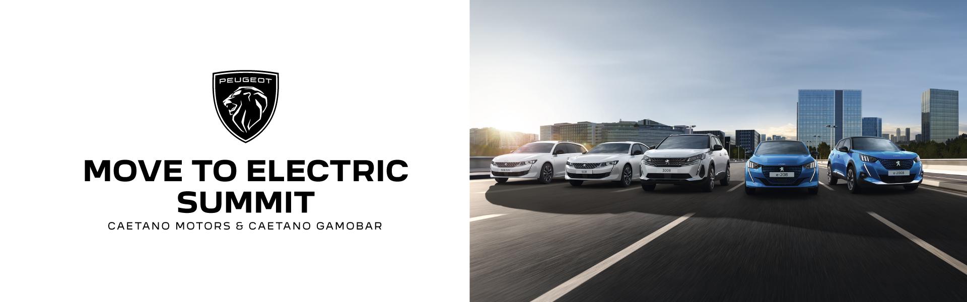 Peugeot Move to Electric nos concessionários Caetano Motors e Gamobar
