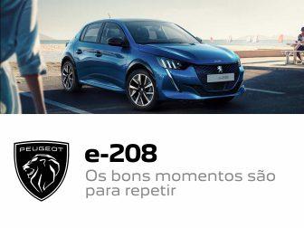 Peugeot e-208: agarre esta campanha!